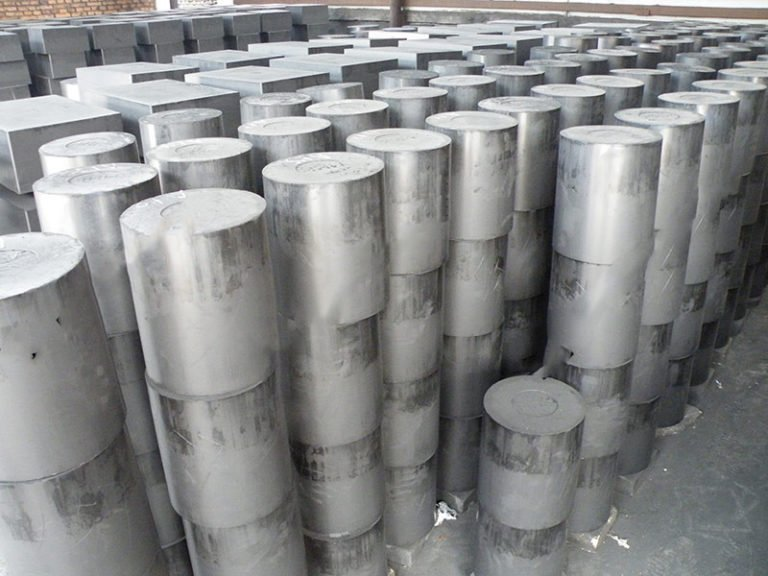 Molded graphite  High density / Fine grain size / High purity / High