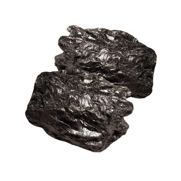 Amorphous graphite granules